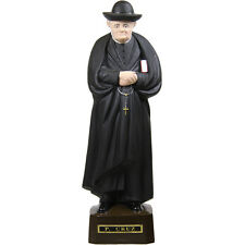 Priest Cruz Religious Statue 10 Inches Tall Made in Portugal #1031