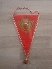 Pennant Manchester United Manu  Wimpel 23 cm Very Rare England United Kingdom