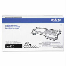 Pack of 4 New Genuine Brother Toner Cartridges TN420