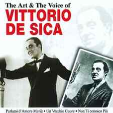 CD  THE ART & THE VOICE OF VITTORIO DE SICA SIGILLATO ITALY PS 16 TRACCE