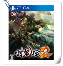 PS4 Toukiden 2 JAPANESE 討鬼伝2 中文版 SONY PLAYSTATION Koei Tecmo Action Games