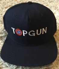 Vtg 76 Unocal Oil Top Gun Snapback New Era Made In USA Hat Cap Gas Petroleum