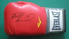 Frank Bruno Signed Red Everlast Boxing Glove un-framed with COA