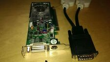 PNY GeForce 8400 GS 512MB DMS-59 PCI-E x16 Video Card OEM Dell P394N WITH Cable