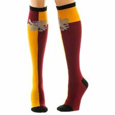 Official Harry Potter Hogwarts Gryffindor House Knee High Socks - One Size