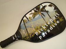 NEW PICKLEBALL PADDLE PICKLEBALL PARADISE T200 SUPER LITE AND FAST AT THE NET