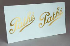 PATHE LOGO to RESTORE GRAMOPHONE PHONOGRAPH WATER SLIDE DECAL