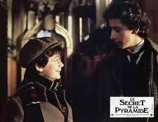 NICHOLAS ROWE ALAN COX YOUNG SHERLOCK HOLMES 1985 VINTAGE PHOTO LOBBY CARD N°3