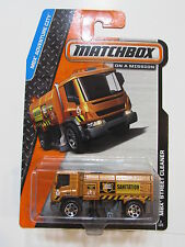 MATCHBOX ON A MISSION MBX STREET CLEANER
