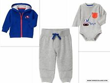 GYMBOREE TREATS AND TRUCKS OUTFIT WITH SWEATSHIRT JACKET NWT SIZE 18-24 MTHS