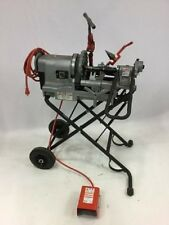 RIDGID PORTABLE WHEELED 300 Compact Pipe Threader 916 Roll Groover Die Head 1822