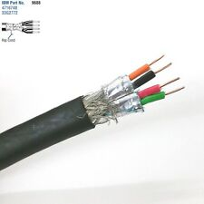 10' Belden 9688 2 Pair 22AWG SOLID Shielded Pair, IBM Type 1A Token Ring Cable