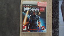 jeu sony PS3 : MASS EFFECT 3 - complet