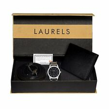 Laurels Watch, Wallet & Belt Combo - (Polo-102-Fos-01)