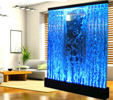 New HUGE 6.5' x 6.5' LED FULL Color Bubble Wall Water Fountain Panel Restaurant