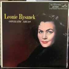 LEONIE RYSANEK/Operatic Arias (RCA Victor Red Seal LM-2262) Shaded Dog Excellent