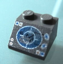 LEGO 3039px8 @@ Slope 45 2 x 2 Blue/Copper Radar Display Pattern @@ 6969 6977