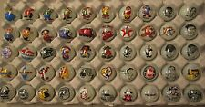 50 Advertising & Cartoon Logo 1 Inch Marbles Great For Collecting / Resale lot I
