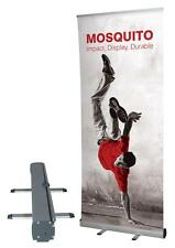 ROLL UP BANNER display 100x200 espositore roll-up autoavvolgente PVC Hi-Quality