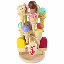 Legler Children's Movable Wooden Ice Cream Stand- Pretend Play Kitchens