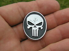 ~ PUNISHER SKULL LAPEL VEST PIN Badge *NEW* Motorcycle suits Harley Davidson
