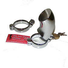 "TheSexShopOnline ""Houdini"" Metal Male Bondage Chastity Device With 2 Rings"
