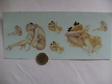 decals decalcomanie decalque divers  pin up
