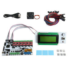 Geeetech Rumba kit with stepper driver A4988 & heatsink LCD 2004 RepRap Pursa I3