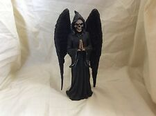 Grim Reaper Angel of Darkness Design Toscano Dark Master Skull Statue