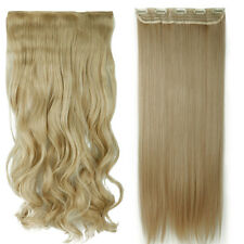 Double Thick 120-200g Full Head Weft Clip in Hair Extensions as remy human hair