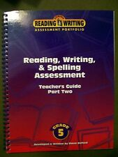 READING, WRITING & SPELLING ASSESSMENT TEACHERS GUIDE PART 2 GRADE 5