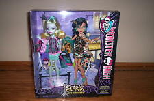 Monster High SCARIS CITY OF FRIGHTS 2 Pack CLEO DE NILE & LAGOONA BLUE Dolls Exc