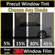 Fits 2011-2016 Hyundai Elantra Sedan (Visor) Precut Window Tint - 3M Window Film