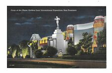 (Y) 1939 San Francisco World's Fair PC #C-17 Court of the Moon Night View