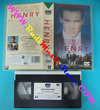 film VHS A PROPOSITO DI HENRY  1991 Harrison Ford  PARAMOUNT 50290 (F41) no dvd