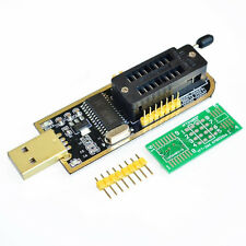 25 SPI Series 24 EEPROM CH341A BIOS Writer Routing LCD Flash USB Programmer
