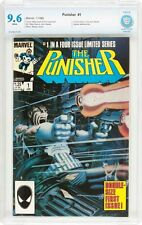 Punisher Limited Series #1 CBCS 9.6 NM+ 1986 1st in own series! Like CGC! F12 cm
