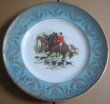 Liverpool Road Pottery Collectors Plate Hunting Scene