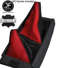 Negro Y Rojo Cuero Cambio De Engranaje De Arranque de ajustes de Toyota Hilux Surf 4 Runner 89-05