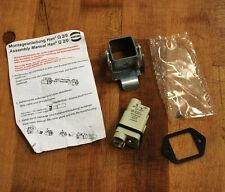 Harting Han Q 2/0-m Contact Insert with Housing Kit - NEW