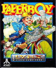 Paperboy Lynx Atari Collectors!! Rare New In Box