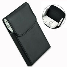 Flip-open Pocket PU Leather Business ID Credit Card Wallet Holder Case Box