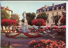 CP 40 Landes - Dax - Place Thiers et Statue de J.C. Borda