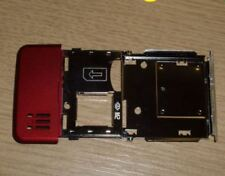 New Genuine Original Sony Ericsson C902 Red Back Cover Chassis Metal Frame