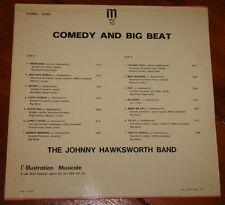 JOHNNY HAWKSWORTH ~ COMEDY BIG BEAT IM LIBRARY 10 LP ~ FRENCH FUNKY JAZZ BREAKS
