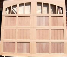 9x8 Wood Overhead Carriage House Garage Door