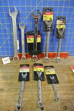 Great Neck & Master Mechanics Open End Box End Wrenches