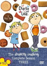 NEW - Charlie & Lola: The Absolutely Completely Complete Season 3