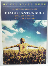 (PRL) CARTONATO MUSICA BIAGIO ANTONACCI ALBUM MI FAI STARE BENE COLLECTION MUSIC