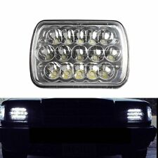 "7""x6"" LED CREE HEADLIGHT BULB  5X7 CRYSTAL CLEAR SEALED BEAM FORD VAN JEEP XJ YJ"